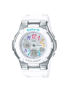 カシオ BABY-G マルチカラーダイアルシリーズ クロノグラフ 腕時計 レディース CASIO BGA-116-7B2JF