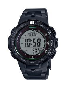 カシオ プロトレック トリプルセンサーVer.3 クロノグラフ パワーリザーブ 腕時計 メンズ CASIO PRW-3100FC-1JF