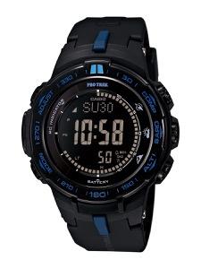 カシオ プロトレック トリプルセンサーVer.3 クロノグラフ パワーリザーブ 腕時計 メンズ CASIO PRW-3100Y-1JF