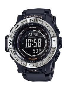 カシオ プロトレック トリプルセンサーVer.3 クロノグラフ パワーリザーブ 腕時計 メンズ CASIO PRW-3510-1JF