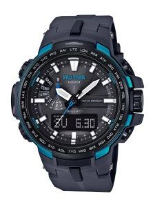 カシオ プロトレック トリプルセンサーVer.3 クロノグラフ パワーリザーブ 腕時計 メンズ CASIO PRW-6100Y-1AJF