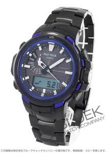 カシオ プロトレック ブルーモーメント クロノグラフ パワーリザーブ 腕時計 メンズ CASIO PRW-6100YT-1BJF
