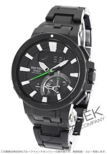 カシオ プロトレック トリプルセンサーVer.3 クロノグラフ ムーンフェイズ パワーリザーブ 腕時計 メンズ CASIO PRW-7000FC-1JF
