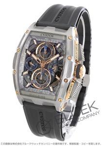 クストス チャレンジ クロノII クロノグラフ パワーリザーブ 腕時計 メンズ Cvstos CVT-CHR2-RG-5N-CP-ST