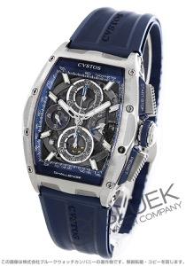 クストス チャレンジ クロノII クロノグラフ パワーリザーブ 腕時計 メンズ Cvstos CVT-CHR2-BL ST