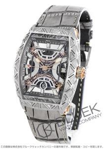 クストス ギュスターヴ エッフェル 世界限定324本 アリゲーターレザー 腕時計 メンズ Cvstos CVT-EIFFEL-CPTT
