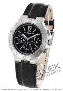 ブルガリ ディアゴノ ヴェロチッシモ クロノグラフ アリゲーターレザー 腕時計 メンズ BVLGARI DG41BSLDCH
