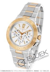 ブルガリ ディアゴノ ヴェロチッシモ クロノグラフ 腕時計 メンズ BVLGARI DG41WSPGDCH