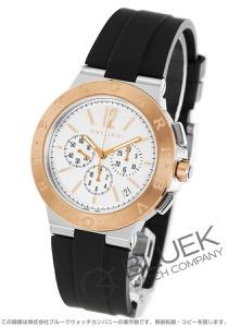 ブルガリ ディアゴノ ヴェロチッシモ クロノグラフ 腕時計 メンズ BVLGARI DG41WSPGVDCH