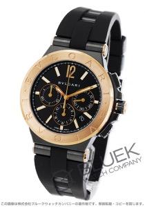 ブルガリ ディアゴノ ウルトラネロ クロノグラフ 腕時計 メンズ BVLGARI DG42BBSPGVDCH