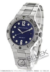 ブルガリ ディアゴノ プロフェッショナル スクーバ 300m防水 腕時計 メンズ BVLGARI DP41C3SSSD