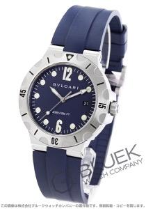 ブルガリ ディアゴノ プロフェッショナル スクーバ 300m防水 腕時計 メンズ BVLGARI DP41C3SVSD
