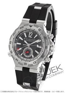 ブルガリ ディアゴノ プロフェッショナル スクーバ GMT 腕時計 メンズ BVLGARI DP42C14SVDGMT