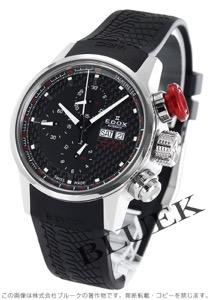 エドックス WRC クロノラリー クロノグラフ 腕時計 メンズ EDOX 01112-3-NIN-R
