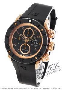 エドックス クロノオフショア1 クロノグラフ 500m防水 腕時計 メンズ EDOX 01114-37R-NIR4