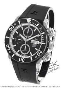 エドックス クロノオフショア1 プロフェッショナル クロノグラフ 300m防水 腕時計 メンズ EDOX 01117-3-NINRA