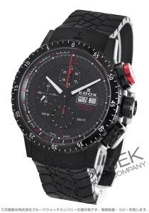 エドックス クロノラリー1 クロノグラフ 腕時計 メンズ EDOX 01118-37NR-NRO