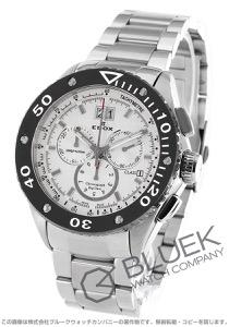エドックス クロノオフショア1 クロノグラフ 300m防水 腕時計 メンズ EDOX 10017-3-AIN2