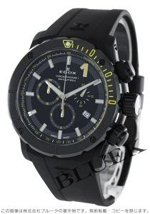 エドックス クロノオフショア1 クロノグラフ 500m防水 腕時計 メンズ EDOX 10221-37N-NINJ