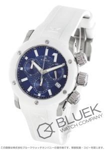 エドックス クロノオフショア1 クロノレディ クロノグラフ 300m防水 腕時計 レディース EDOX 10225-3B-BUIN