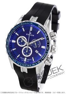 エドックス グランドオーシャン クロノグラフ 300m防水 腕時計 メンズ EDOX 10226-3BUCA-BUIN