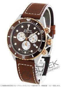 エドックス スカイダイバー 70s クロノグラフ 300m防水 腕時計 メンズ EDOX 10238-357RBRC-BRIA