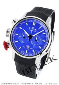 エドックス クロノラリー クロノグラフ 腕時計 メンズ EDOX 10302-3-BUIN
