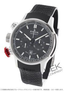 エドックス クロノラリー クロノグラフ 腕時計 メンズ EDOX 10302-3-GIN