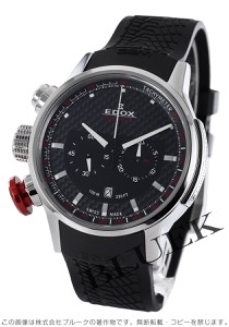 エドックス クロノラリー クロノグラフ 腕時計 メンズ EDOX 10302 3 NIN2