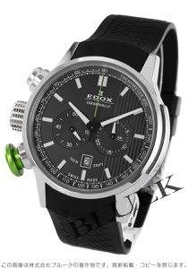 エドックス クロノラリー クロノグラフ 腕時計 メンズ EDOX 10302-3V-GIN