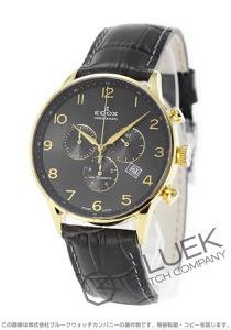 エドックス レ・ボベール クロノグラフ 腕時計 メンズ EDOX 10408-37JG-GBD