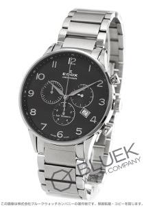 エドックス レ・ボベール クロノグラフ 腕時計 メンズ EDOX 10409-3N-NBN