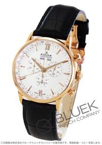 エドックス レ・ベモン クロノグラフ 腕時計 メンズ EDOX 10501-37R-AIR