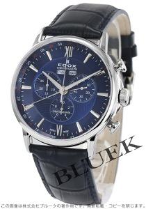 エドックス レ・ベモン クロノグラフ 腕時計 メンズ EDOX 10501-3-BUIN