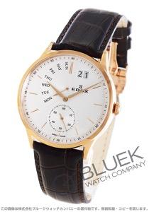 エドックス レ・ボベール レトログラード 腕時計 メンズ EDOX 34500-37R-AIR