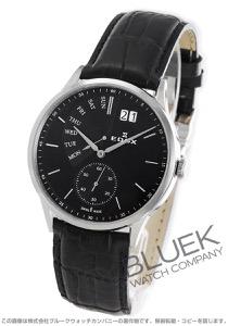 エドックス レ・ボベール レトログラード 腕時計 メンズ EDOX 34500-3-NIN