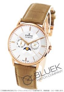 エドックス レ・ベモン ムーンフェイズ 腕時計 メンズ EDOX 40002-37R-AIR