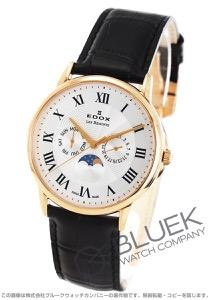 エドックス レ・ベモン ムーンフェイズ 腕時計 メンズ EDOX 40002-37R-AR