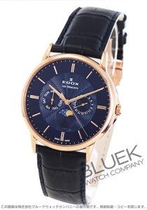 エドックス レ・ベモン ムーンフェイズ 腕時計 メンズ EDOX 40002-37R-BUIR