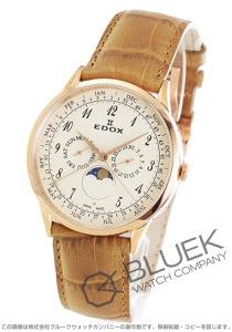エドックス レ・ボベール ムーンフェイズ 腕時計 メンズ EDOX 40101-37RC-BEBR