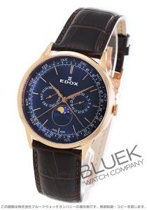 エドックス レ・ボベール ムーンフェイズ 腕時計 メンズ EDOX 40101-37RC-BUIR