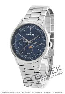 エドックス レ・ボベール ムーンフェイズ 腕時計 メンズ EDOX 40101-3M-BUIN