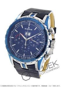 エドックス グランドオーシャン エクストリームセーリング スペシャルディション クロノグラフ 300m防水 腕時計 メンズ EDOX 45004-357B-BUIN