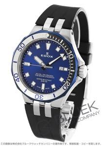 エドックス デルフィン ダイバー デイト 300m防水 腕時計 メンズ EDOX 53015-357BUNCA-BUIN