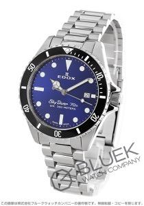 エドックス スカイダイバー 70s 300m防水 腕時計 メンズ EDOX 53017-3NM-BUI