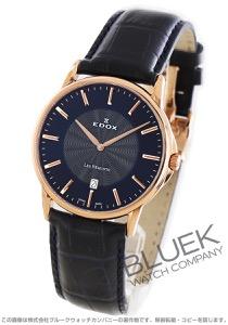 エドックス レ・ベモン ウルトラスリム 腕時計 メンズ EDOX 56001-37R-BUIR