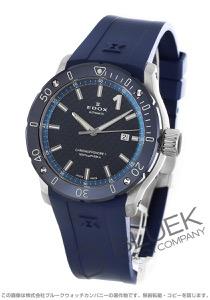 エドックス クロノオフショア1 プロフェッショナル 500m防水 腕時計 メンズ EDOX 80099-3BU3-BUIN3