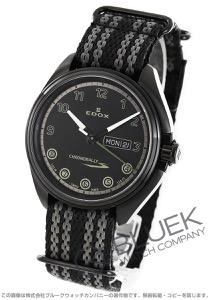 エドックス クロノラリー S デイデイト 腕時計 メンズ EDOX 84301-37NNNAG-NNV