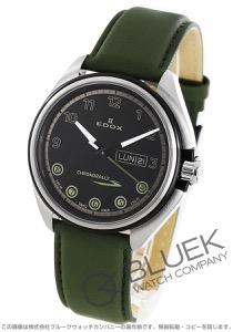 エドックス クロノラリー S デイデイト 腕時計 メンズ EDOX 84301-3NCV-NNV