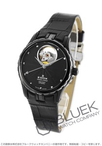 エドックス グランドオーシャン オープンハート 腕時計 レディース EDOX 85012-357N-NIN